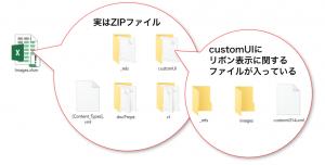 Excelファイルの内部(主にリボン関連部分)