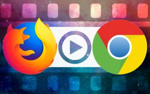 FireFoxとGoogle Chromeの再生