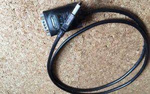 シリアル-USBケーブル