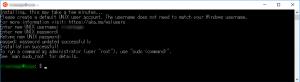 Ubuntuのユーザー設定